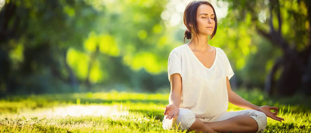 Overcoming Grass is Greener Syndrome - Young Woman Practicing Mindfulness Meditation